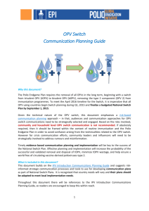 Communication Planning Guide