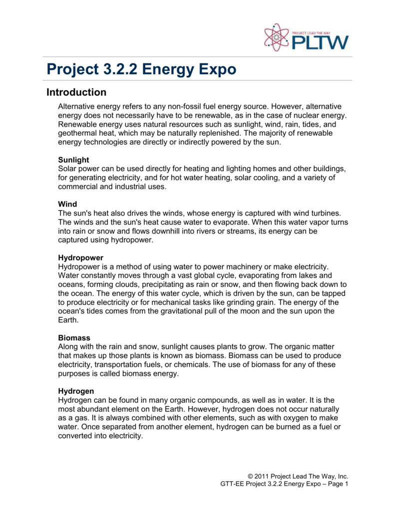 Project 3 2 2 Energy Expo