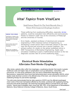 Vitalcare Technology Newsletter 11