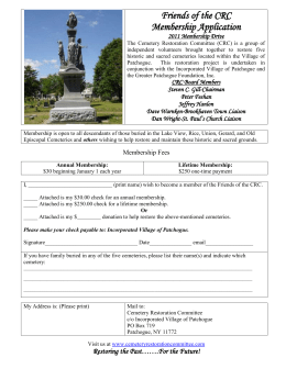 Picture of Four Sisters Monument - Cemetery Restoration Committee
