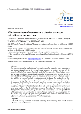 Effective numbers of electrons as a criterion of carbon suitability as a