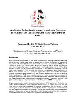 Organized by the GFRA in Hanoi, Vietnam October 2015