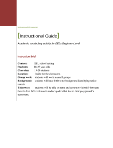 Instructional Guide