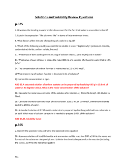 Day 14- Solns and Solub Text Review Qs typed out