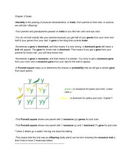 Chapter 7 Extending Mendelian Genetics