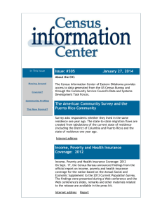 January 27 - Community Service Council of Greater Tulsa