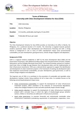 CDIA-Internship-2015b_Terms-of-Reference
