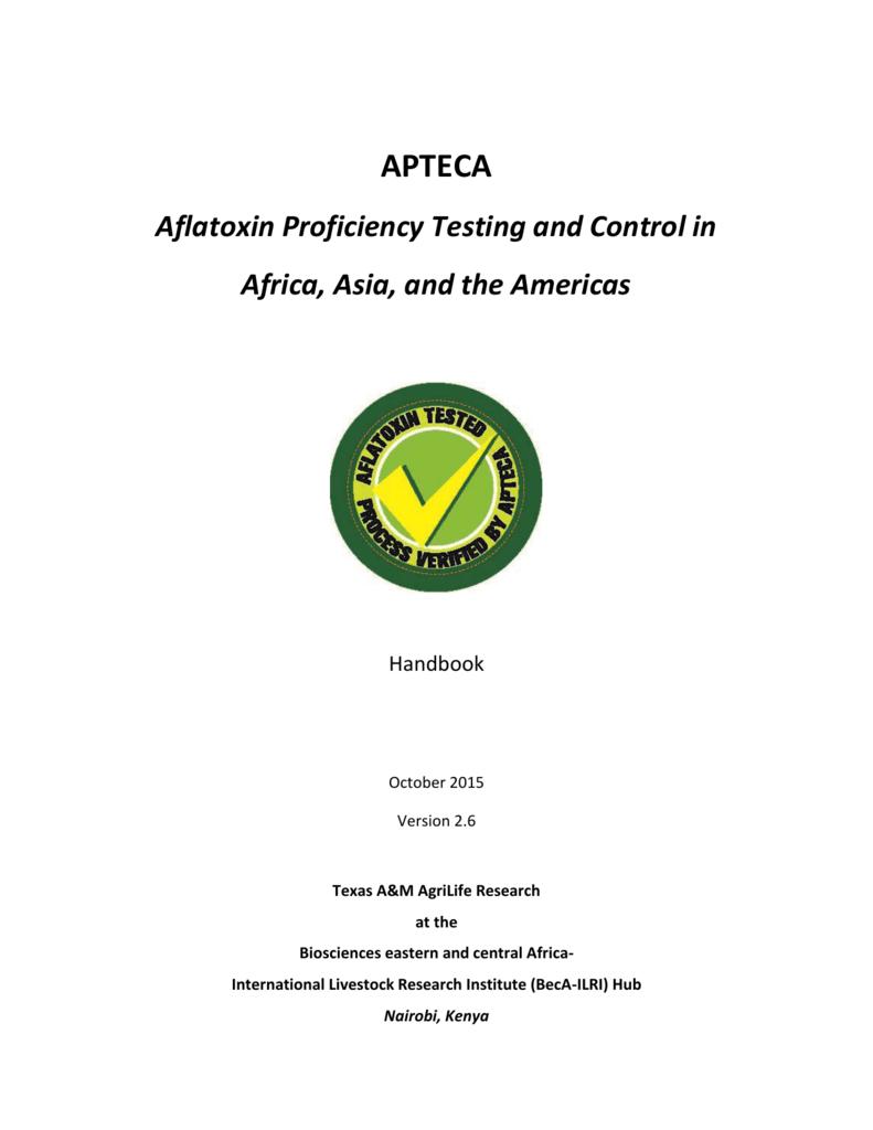 APTECA handbook