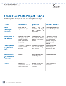 2.7.2 -Fossil Fuel Photo Project Rubric (1)