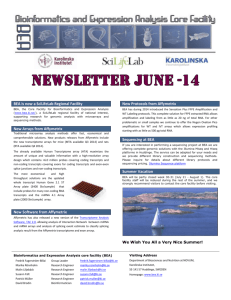june_2014_newsletter - BEA core facility