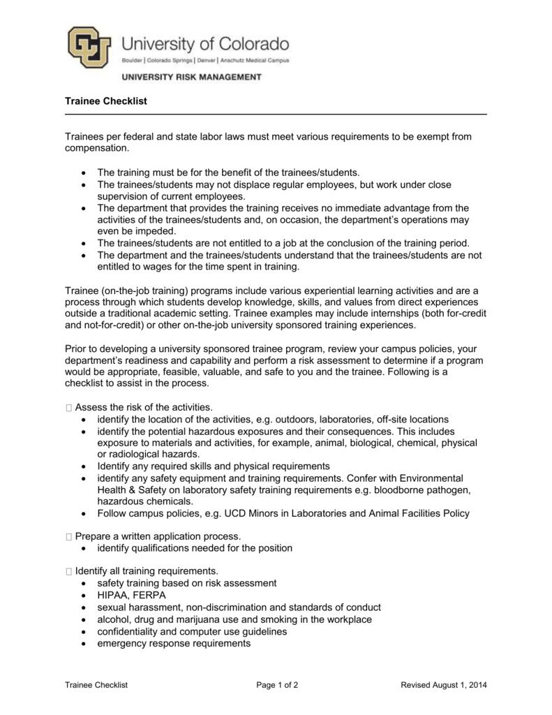 Medical Front Desk Training Checklist Hostgarcia