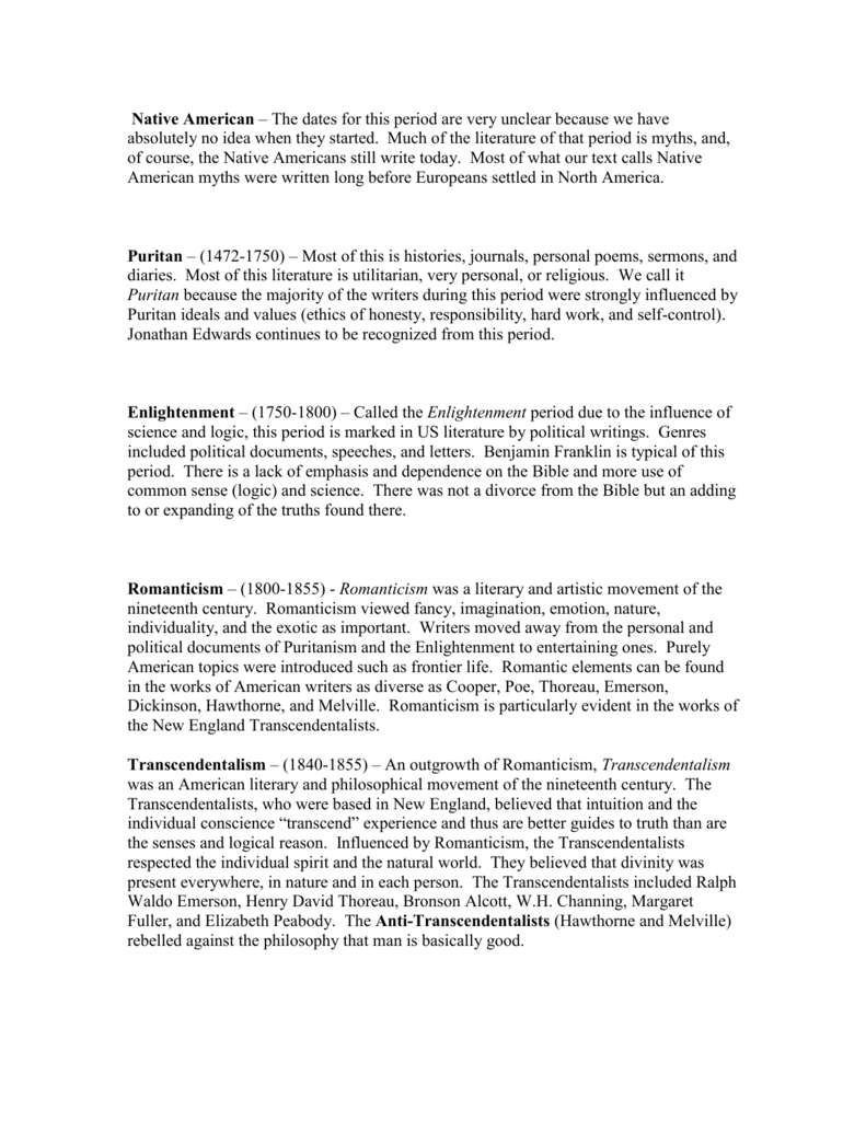 puritan ideals and values