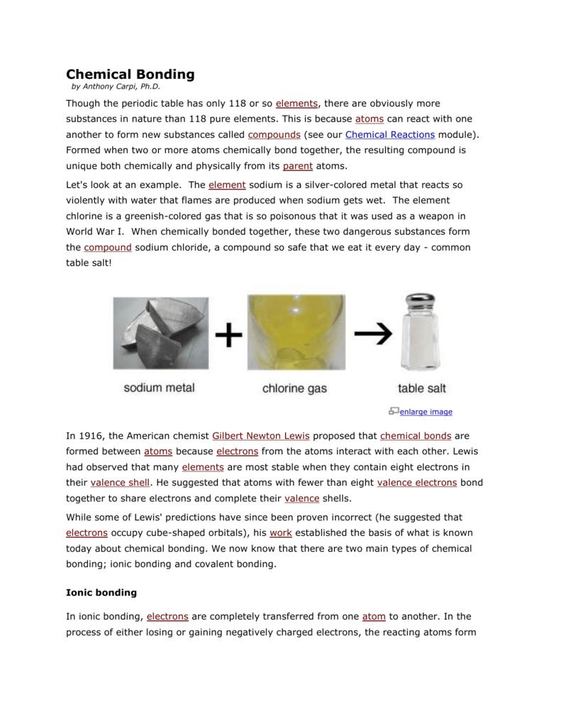 Polar and nonpolar covalent bonding
