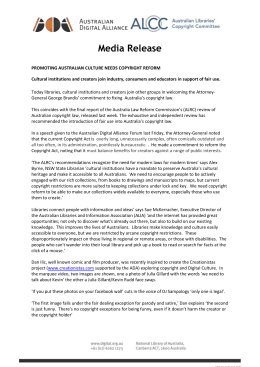 Fair Use - Cultural Sector Media Release (3)