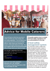 Advice for Mobile Caterers