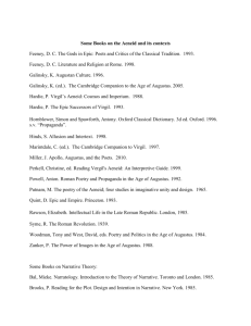 Some Books on the Aeneid and its contexts