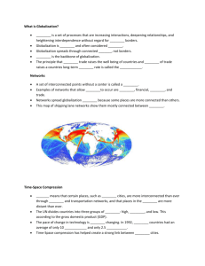 Globalization Close Reading