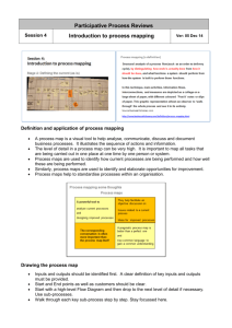 Handout Session 4 Intro to process mapping Ver 2015 07 08