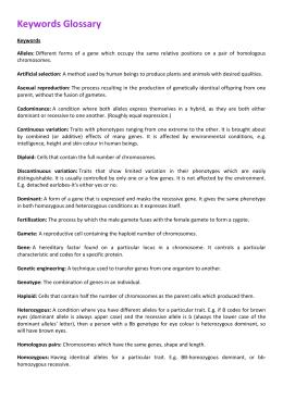GLOSSARY BIOLOGY PDF