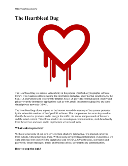Who found the Heartbleed Bug?