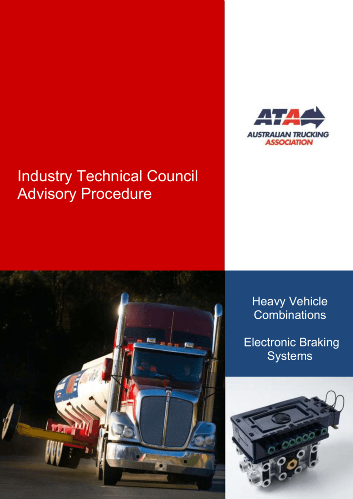 Electronic Braking Systems technical advisory procedure