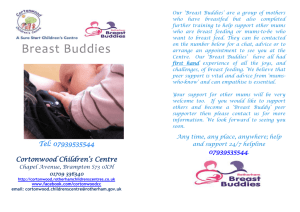 Tel: 07939535544 Cortonwood Children`s Centre