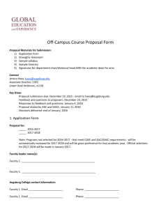 Off-Campus Course Proposal Form
