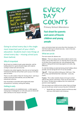 Every Day Counts - Primary School