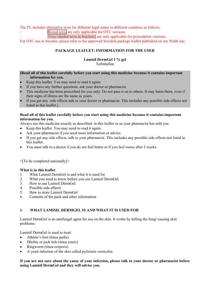 Ringworm information sheet