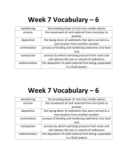 Week 7 Vocabulary – 6