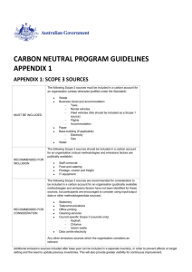 Carbon Neutral Program Guidelines Appendix 1