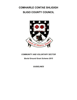 Burial Ground Grant Scheme Guidelines 2015 (DOC)