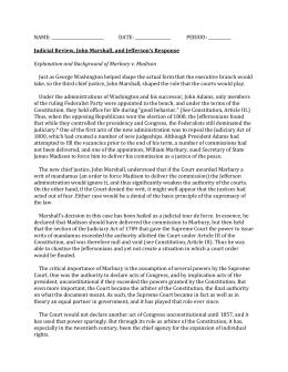 Worksheets Marbury V Madison Worksheet marbury v madison worksheet name date period judicial review john marshall