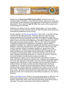 April 25, 2014 – Word Doc - Theodore Payne Foundation