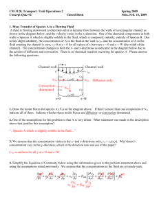 Quiz 2 Solution - Chemical Engineering