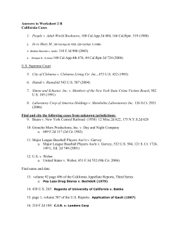 Worksheet 2B Answers Westlaw REsearch cases