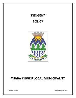 approved indigent policy 2016