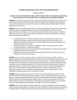NASUCA EPA Resolution 2014-03