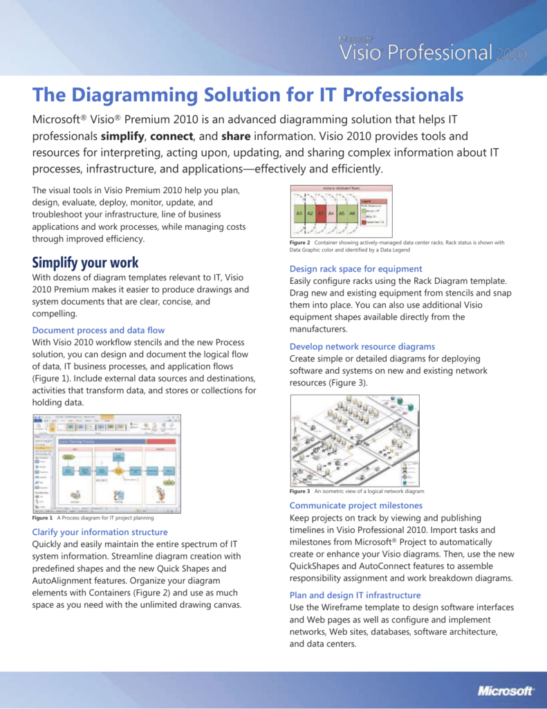 Visio 2010 Network Templates Process Flow Diagram The Diagramming Solution For It Professionals 791x1024