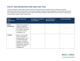 Policy and Infrastructure Analysis Tool