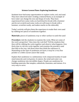 Science Lesson Plans: Exploring Sandstone