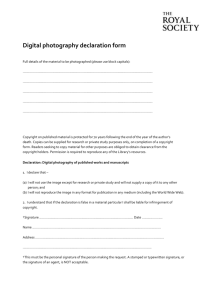 photography form