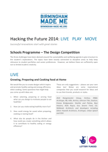 Hacking the Future 2014: LIVE PLAY MOVE