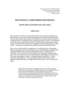 """Relational Comparison Revisited"" Abstract"