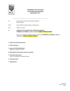 Agenda - Pasadena City College