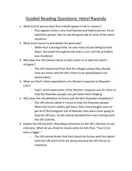 hotel rwanda questions guided reading questions hotel rwanda