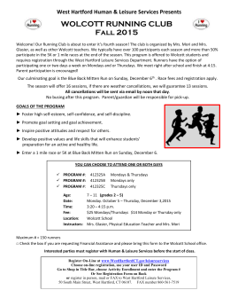 west hartford leisure services registration form