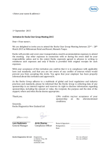 Sponsorship Invitation Acknowledgment Letter for RUG 2015