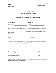 This form will be used for incidental and composite observations