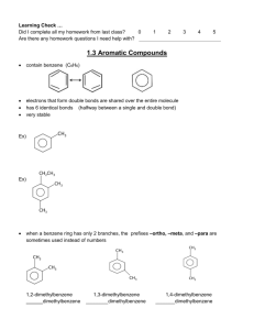 1.3 Aromatic Compounds
